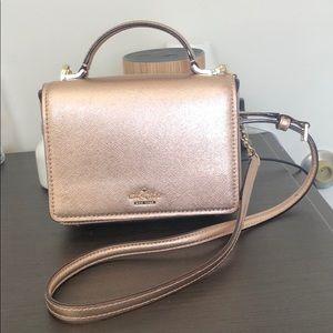 Metallic Pink Kate Spade Crossbody Bag